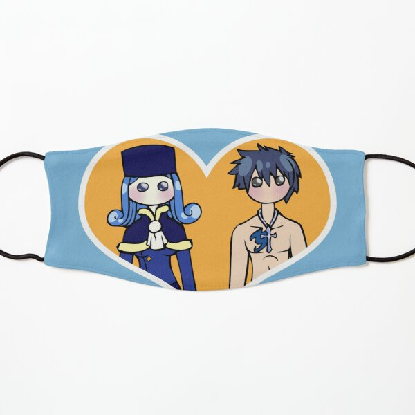 Juvia and Gray - shipping dolls Kids Mask