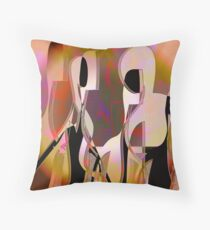 Lasting Attachments Throw Pillow