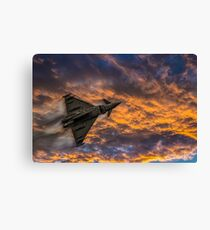 Typhoon Eurofighter Canvas Print