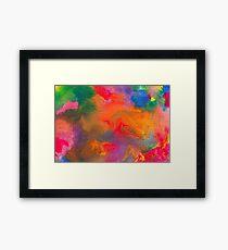 Abstract - Crayon - Melody Framed Print
