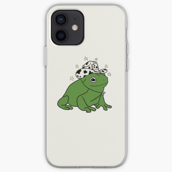 Frog with a cowboy hat ★ iPhone Soft Case