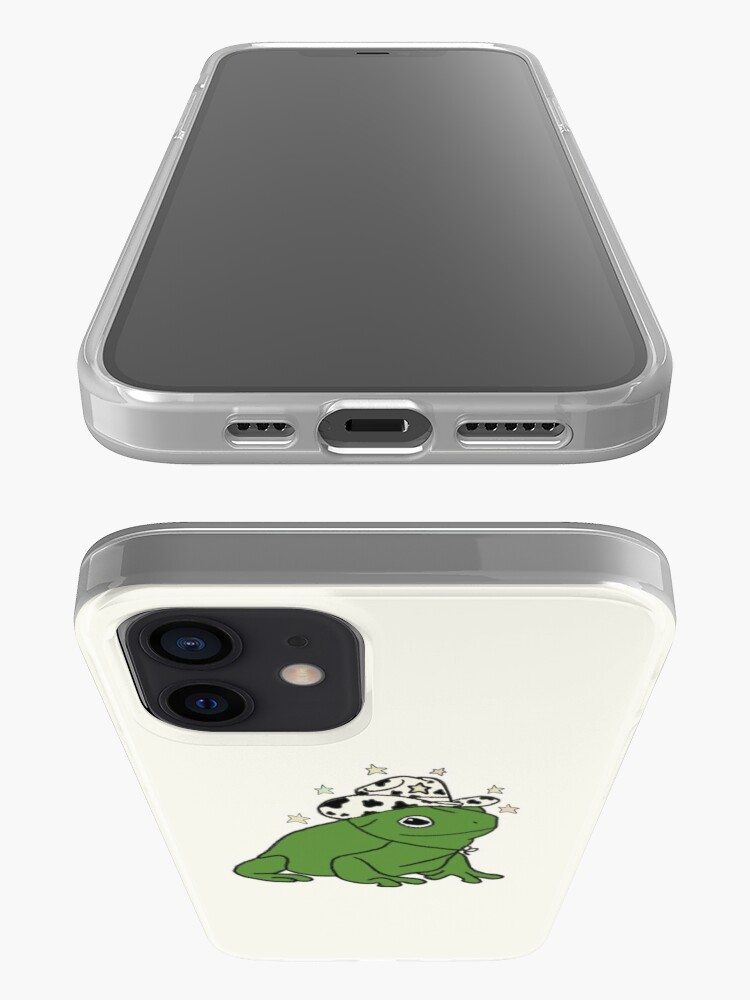 Alternate view of Frog with a cowboy hat ★ iPhone Case & Cover