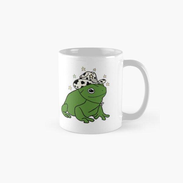 Frog with a cowboy hat ★ Classic Mug