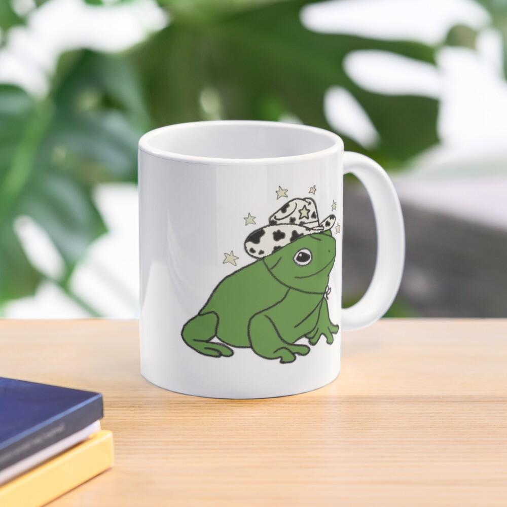 Frog with a cowboy hat ★ Mug