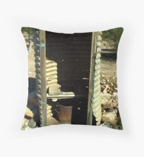 Miner's Dunny Throw Pillow
