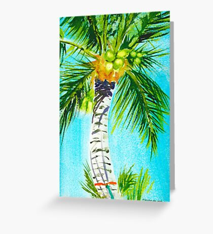 Where the Hammock Sways Greeting Card