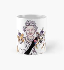 Queen and Corgis Mug