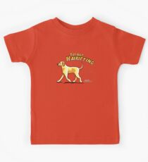 Yellow Lab :: Totally Hairifying Kids Tee