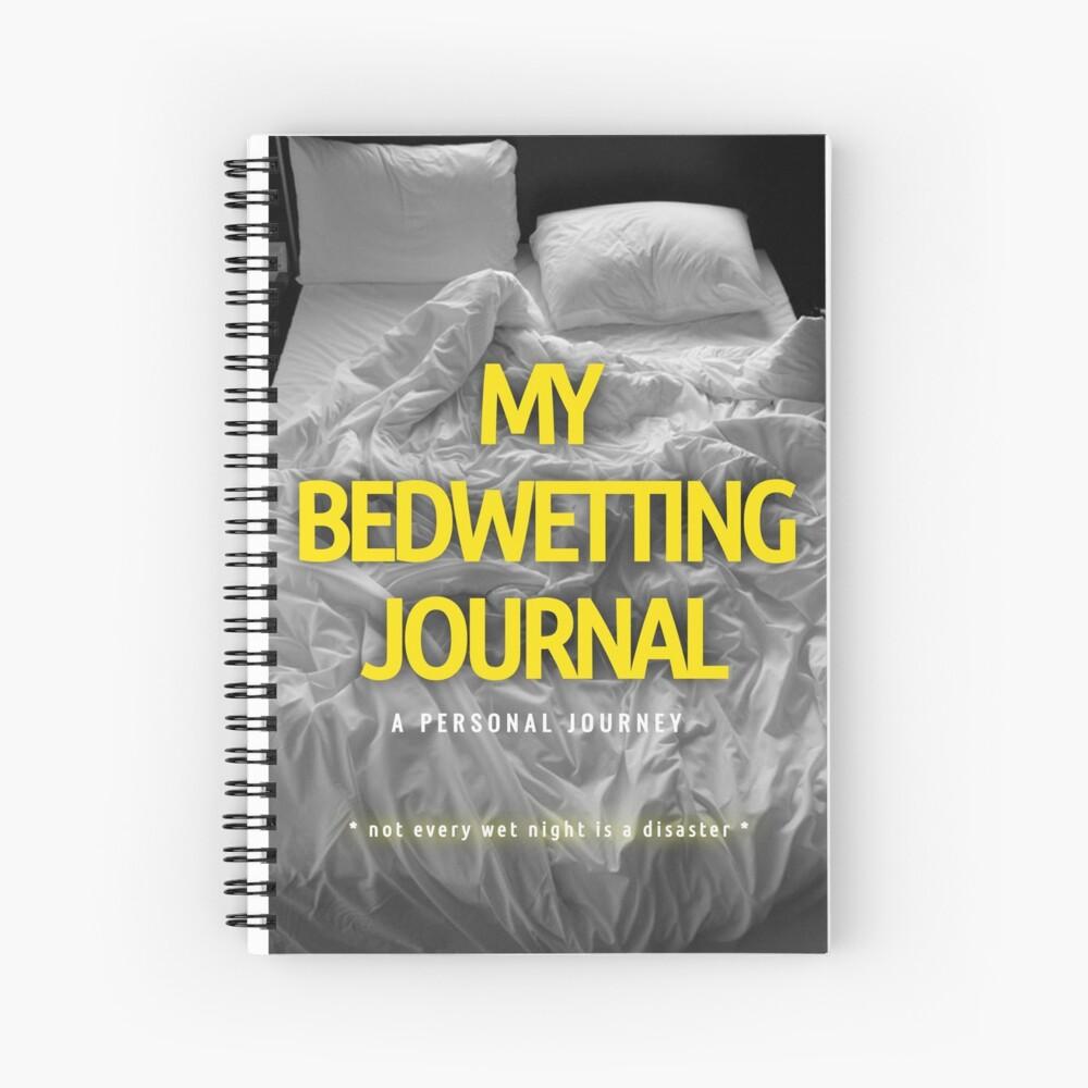 My Bedwetting Journal Spiral Notebook