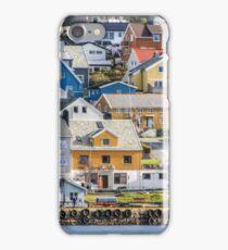 Buildings in Kristiansund iPhone Case/Skin