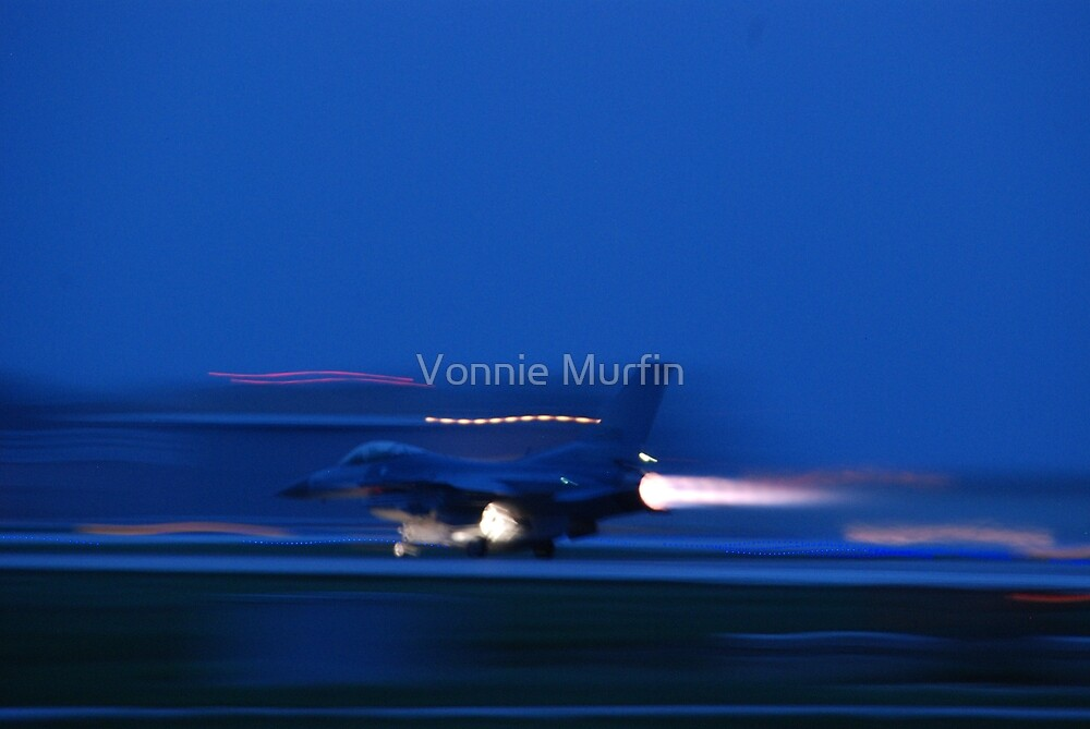 F-16 by Vonnie Murfin