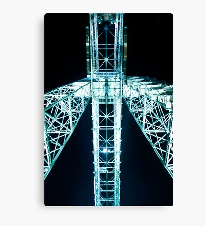 Newport Transporter Bridge Canvas Print