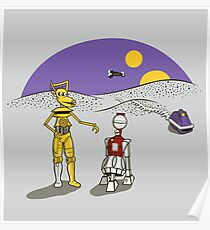 Not the Droids You're Looking For Poster
