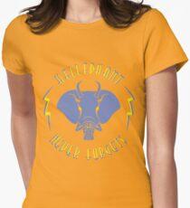 Hellephant - Impale Blue on Gold T-Shirt