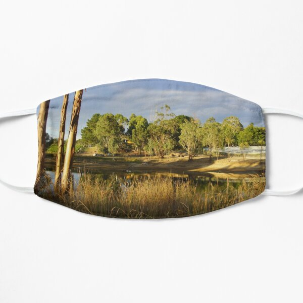 Summer by the Dam - Adelaide Hills Wine Region - Fleurieu Peninsula by South Australian artist Avril Thomas Mask