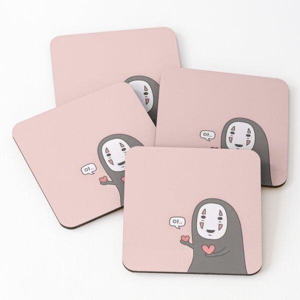 No Face Coasters (Set of 4)