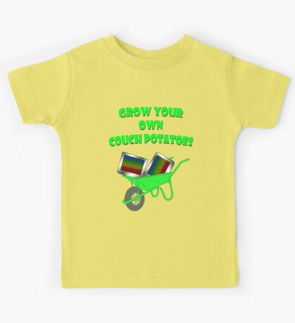 grow your own couch potatoes  Kids Clothes