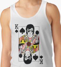 Elvis Presley Vegas Style Playing Card Tank Top