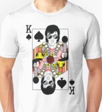 Elvis Presley Vegas Style Playing Card Unisex T-Shirt