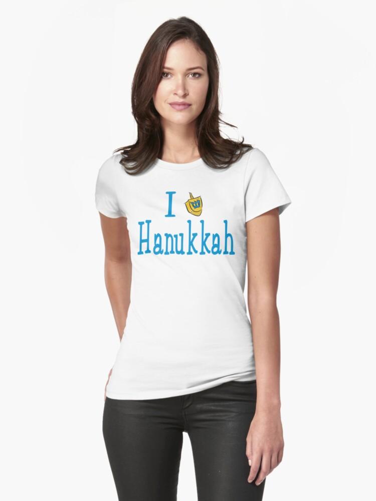 I Love Hanukkah Hanukkah T-Shirt by HolidayT-Shirts