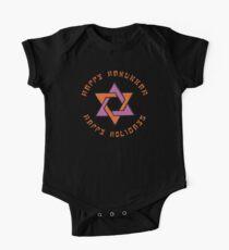 Happy Hanukkah T-Shirt One Piece - Short Sleeve
