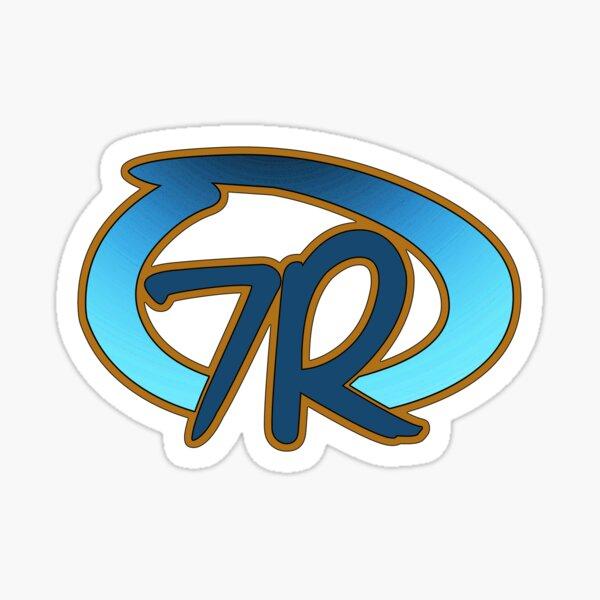 7R Logo Clear1 Sticker