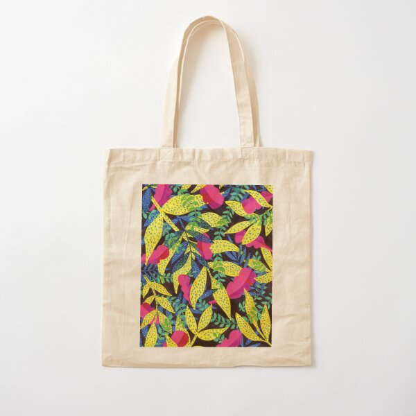 Night in the leaves Cotton Tote Bag
