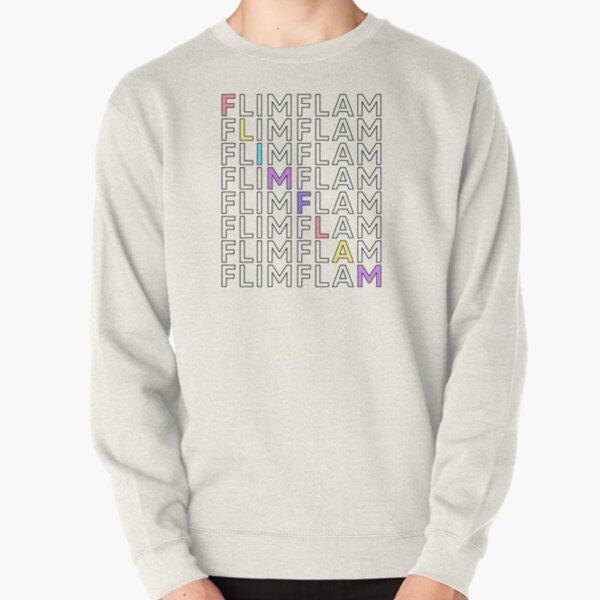 Flim Flam Repeat Colorful Pullover Sweatshirt