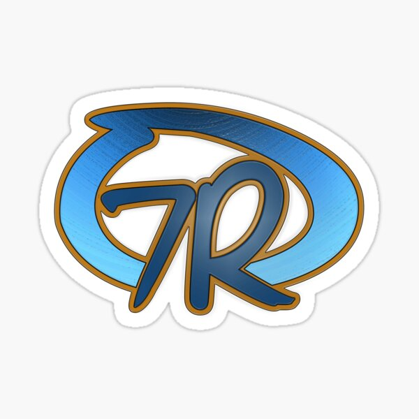 7R Logo Clear2 Sticker