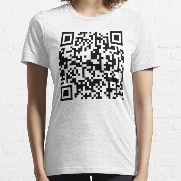 Rickroll QR Code Essential T-Shirt
