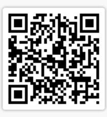 Rickroll QR Code Sticker