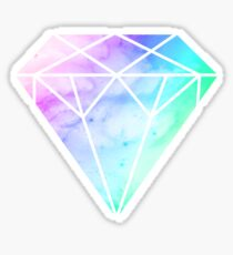 Rainbow Galaxy Diamond Sticker