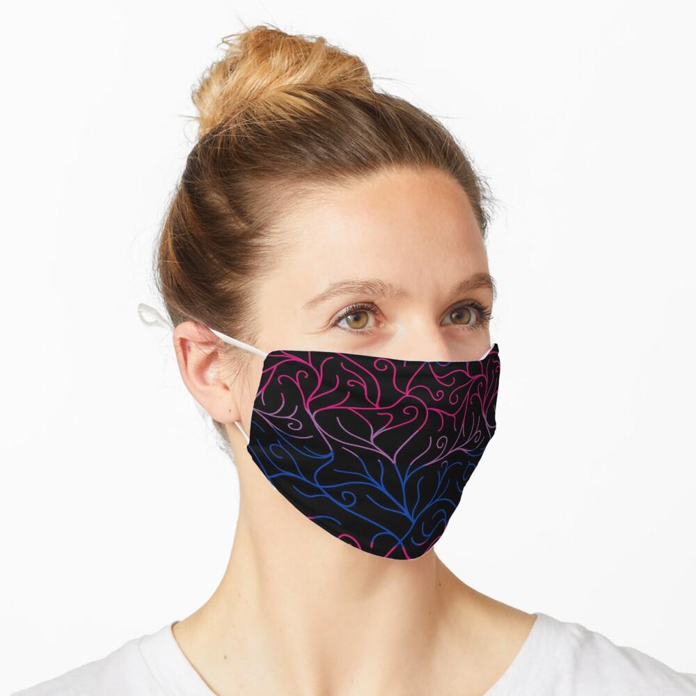 Black Velvet, Bisexual Flag Vines Mask