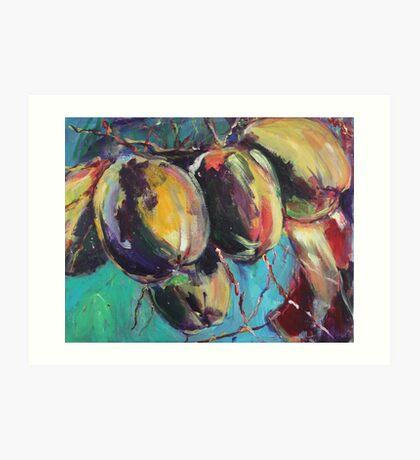 coconuts revisited Art Print