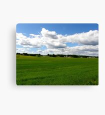 Under the clouds... Canvas Print