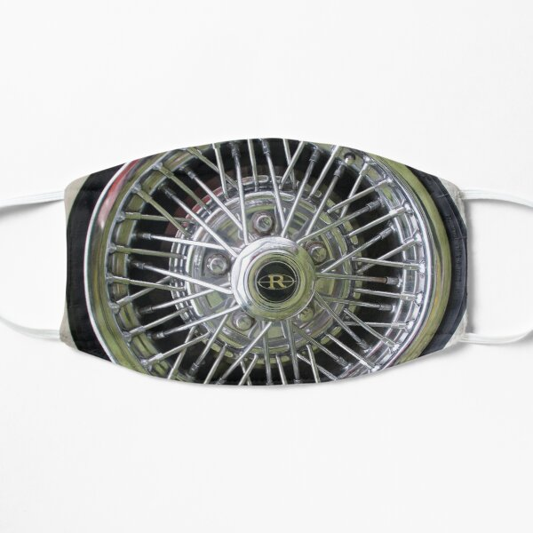 Spoke to Me - Car Tyer by South Australian artist Avril Thomas Mask