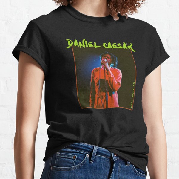 We find love and hold me down. This artwork of Daniel Caesar is perfect for all fans of the singer and lovers of shirts Classic T-Shirt