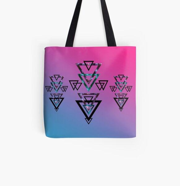Bermuda Sunset All Over Print Tote Bag