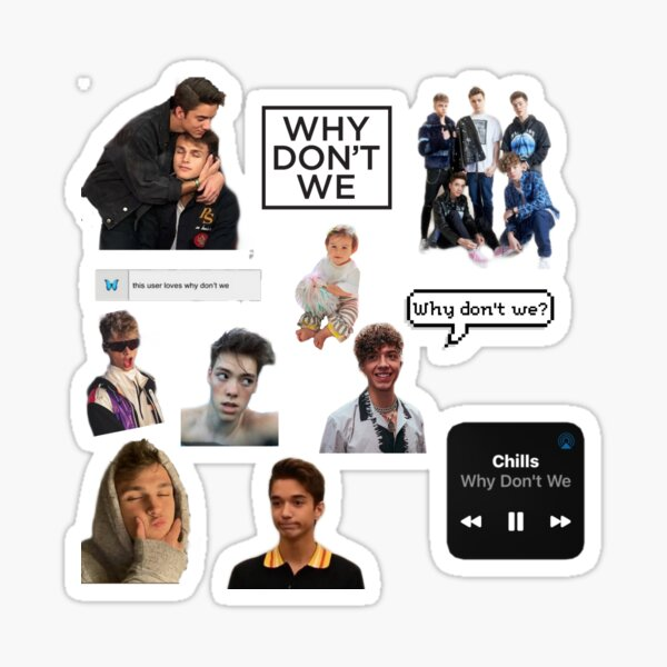 Why Don't We Pack Sticker