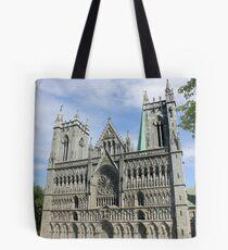 Nidaros Cathedral in Trondheim Norway Tote Bag