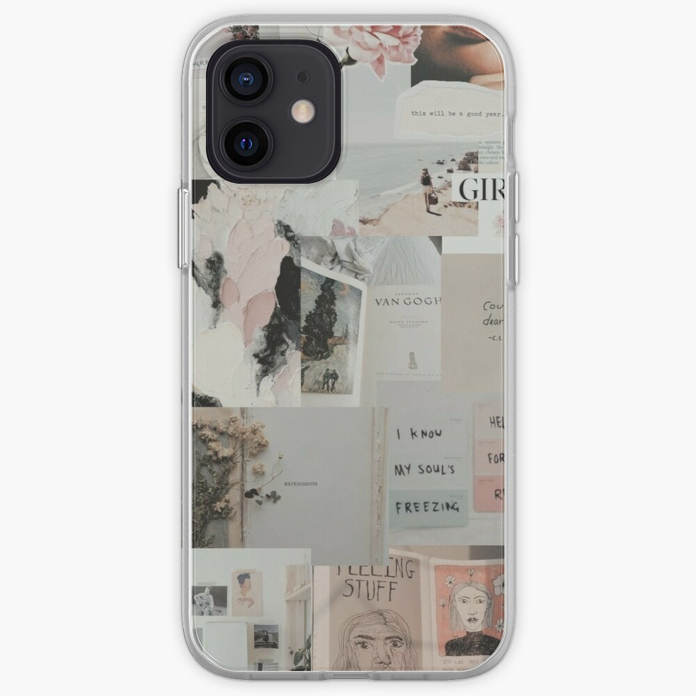 soft aesthetic grunge teen phone case wallet quote tumblr sticker iPhone Case & Cover