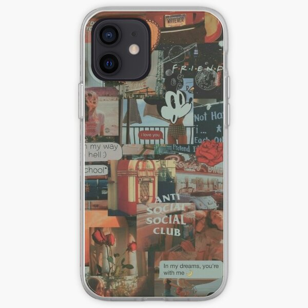retro 80s aesthetic grunge teen phone case wallet quote tumblr sticker iPhone Soft Case