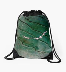 The girl lost her pearls Drawstring Bag