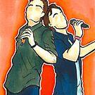 Joe Walker and Brian Holden by NerdyTurtly