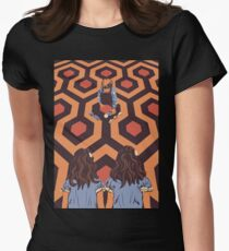 The Shining Room 237 Danny Torrance  Women's Fitted T-Shirt