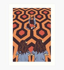The Shining Room 237 Danny Torrance  Art Print