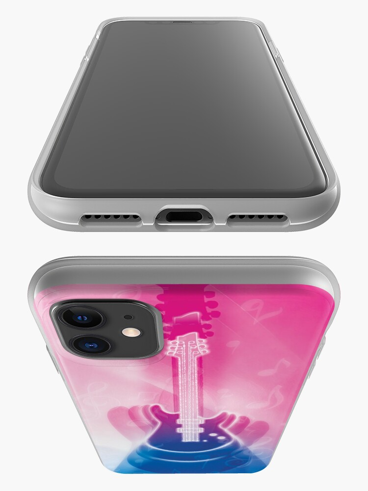 Alternate view of Rock Guitar Designs For Future Pop Stars iPhone Case & Cover