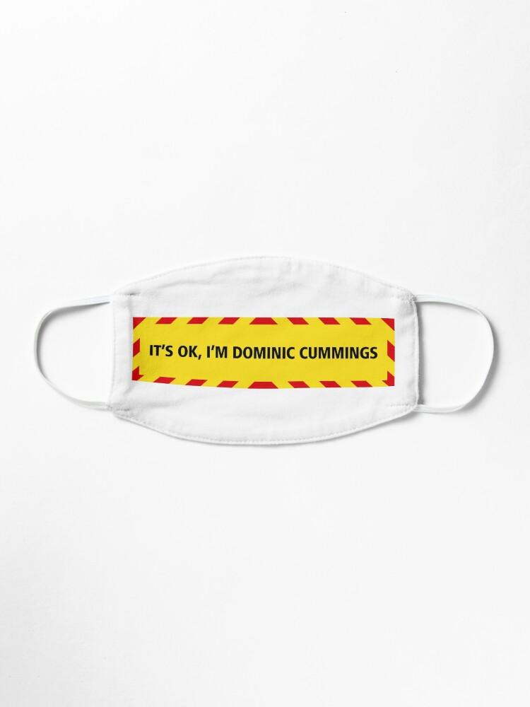 Alternate view of NDVH Cummings (coronavirus) Mask