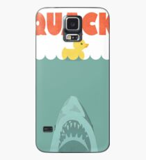 Jaws Rubber Duck 'Quack'  Case/Skin for Samsung Galaxy