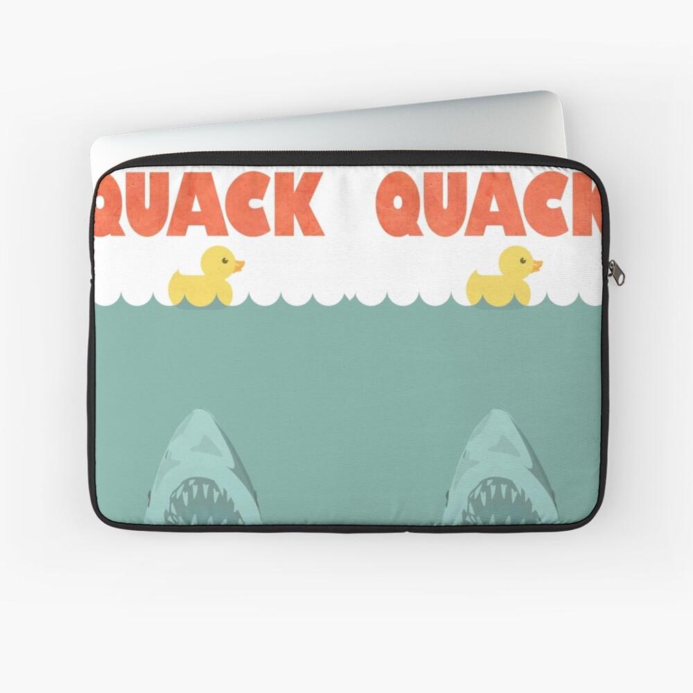 Jaws Gummiente 'Quack' Laptoptasche